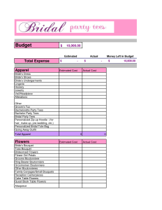 how to make an easy budget plan