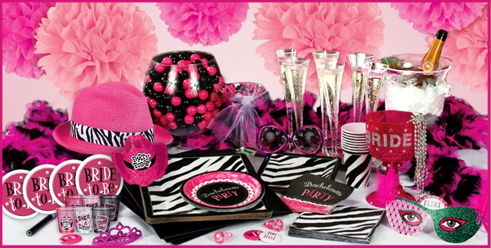 10 easy steps to plan the perfect bachelorette party for Bachelorette party decoration ideas