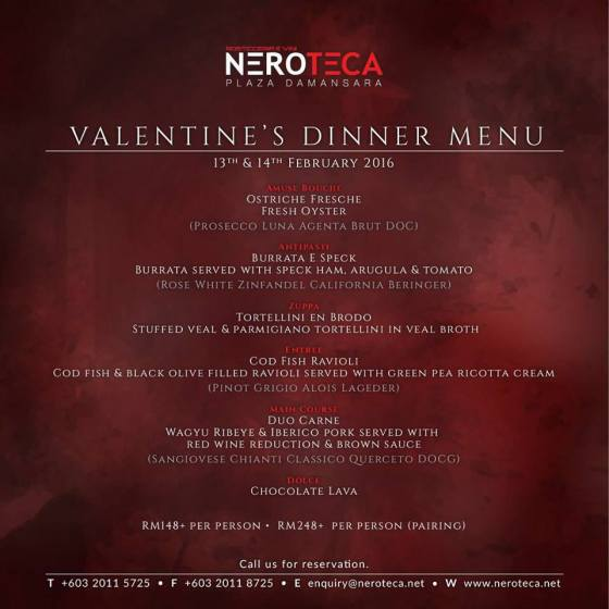 nero-teca-plaza-damansara-kuala-lumpur-valentines-day-promotion-2016-dinner-date-venue-venuecape